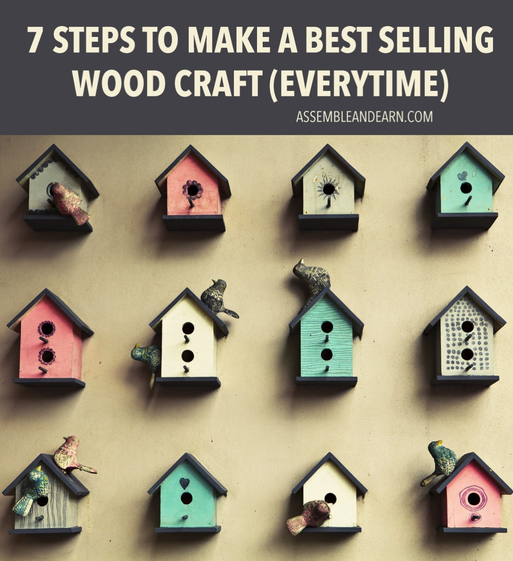 7 qualities of a bestselling woodcraft for Home craft business ideas