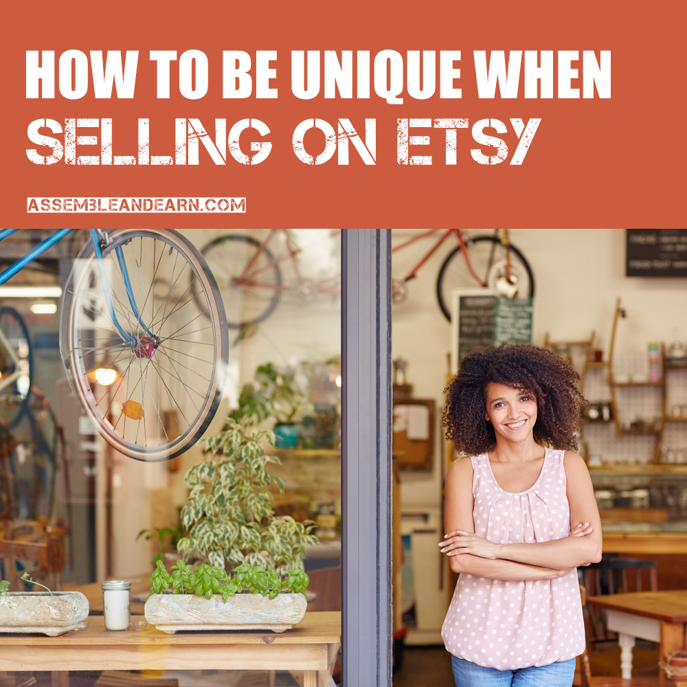 how to be unique on Etsy